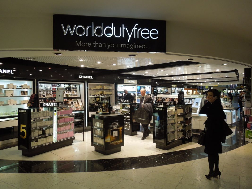 duty free prices at palma airport