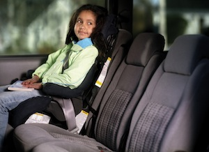Car seat rules in Spain