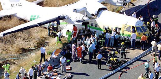 Malaga Airport 2001 Crash