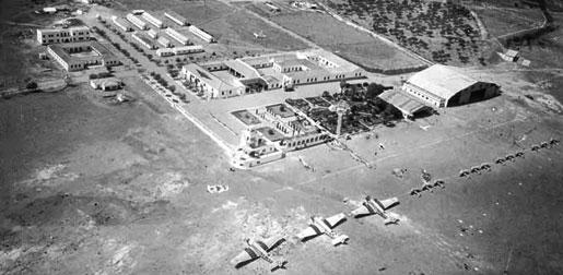 Malaga Airport Aerial Base