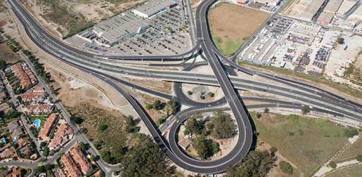 Malaga Airport South Access Road