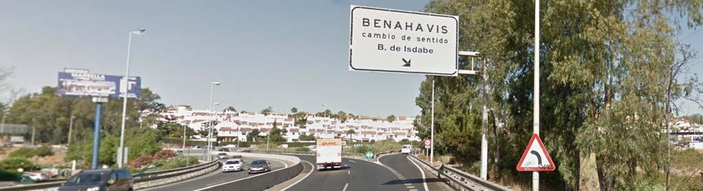 Ausfahrt nach Benahavís