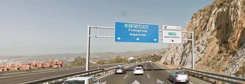Malaga airport to Benalmadena pueblo