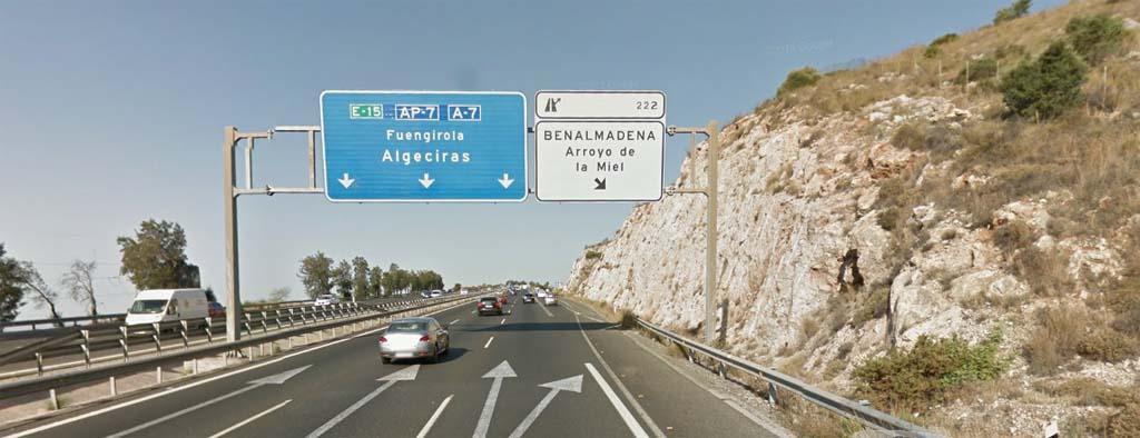 Malaga airport to Arroyo de la Miel