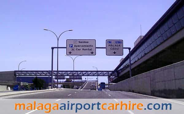 New access to the airport