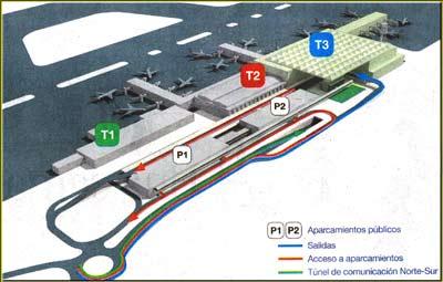 Malaga Airport t3 Terminal