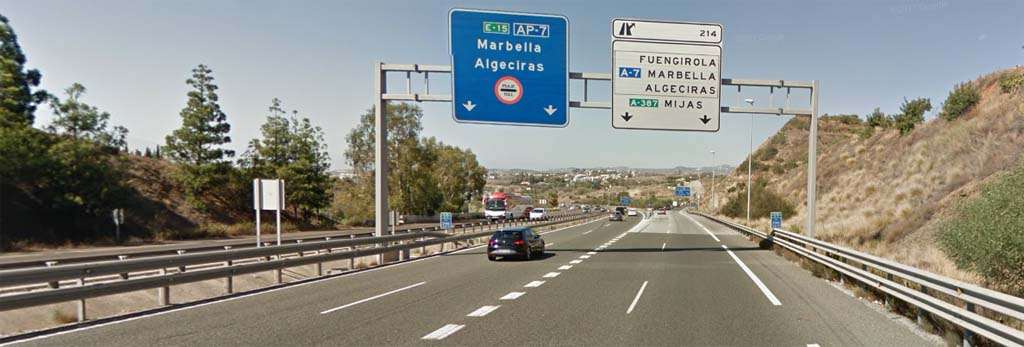 Do you prefer driving the toll road or the free road to Manilva?