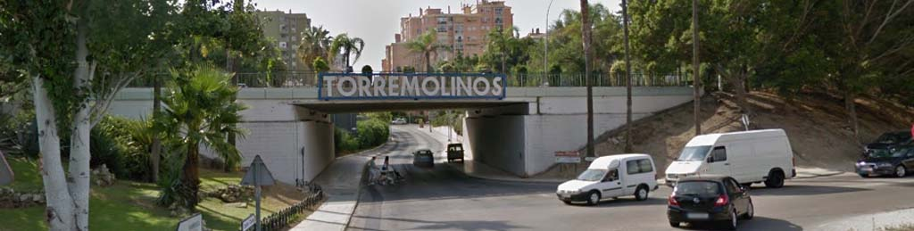 Take the exit to Torremolinos and drive straight